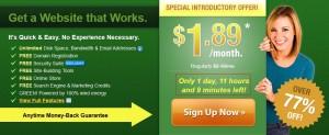 iPage主机9月开学季限时促销 1.89美元每月